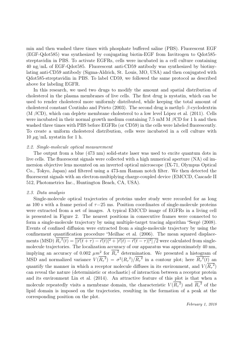 Example of Astronomy and Computing format