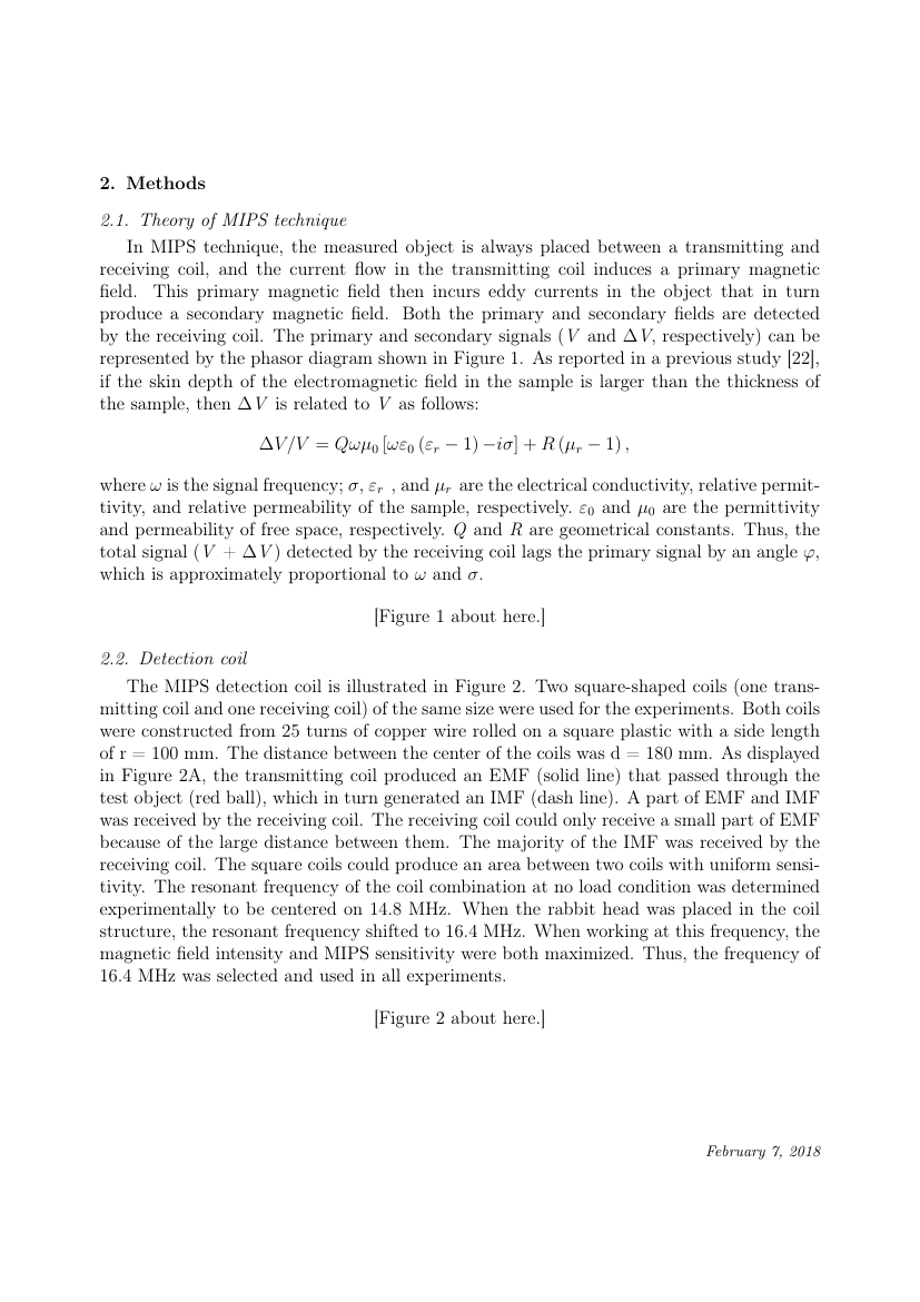 Elsevier Physics Letters A Template