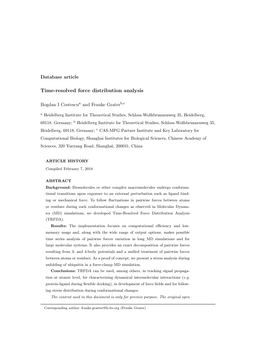 Example of International Journal of Qualitative Studies in Education format