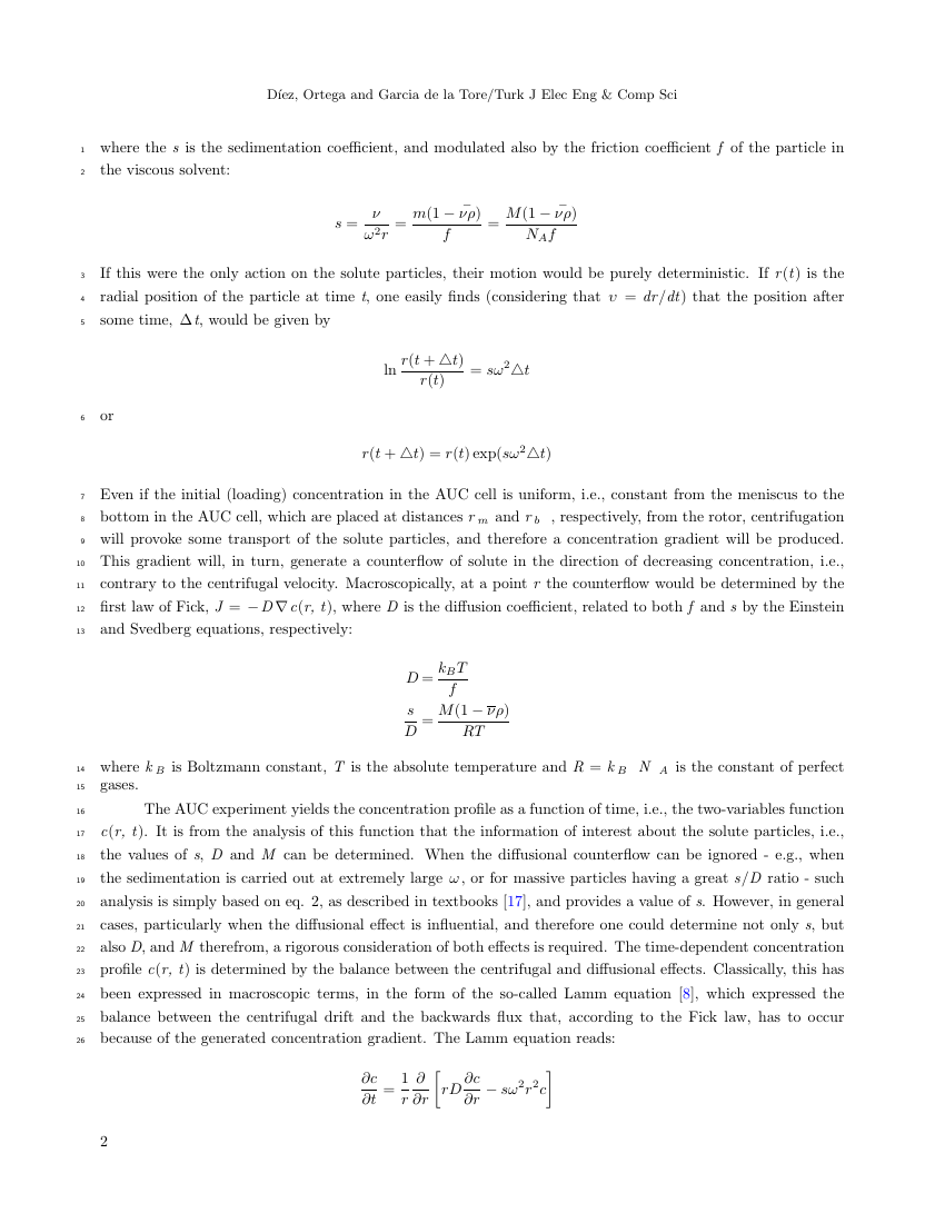 Example of Turkish Journal of Electrical Engineering & Computer Sciences format