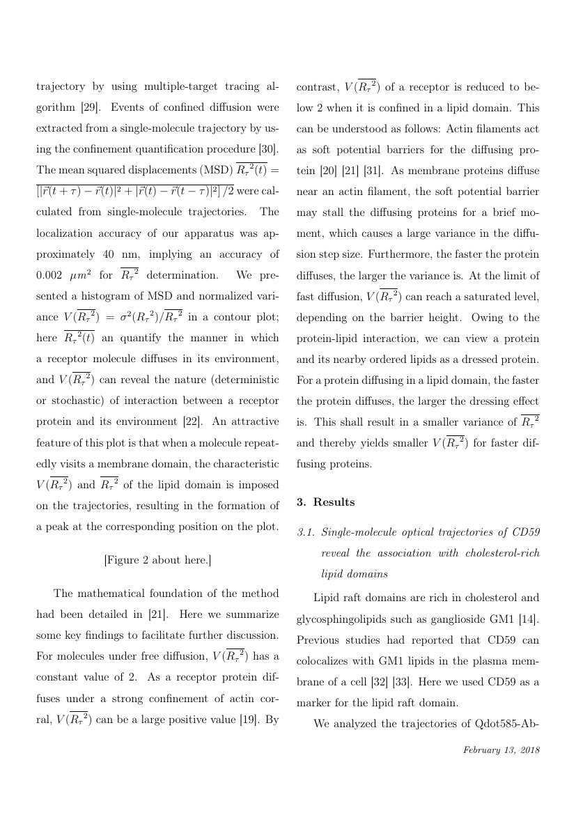 Example of The Journal of Supercritical Fluids format