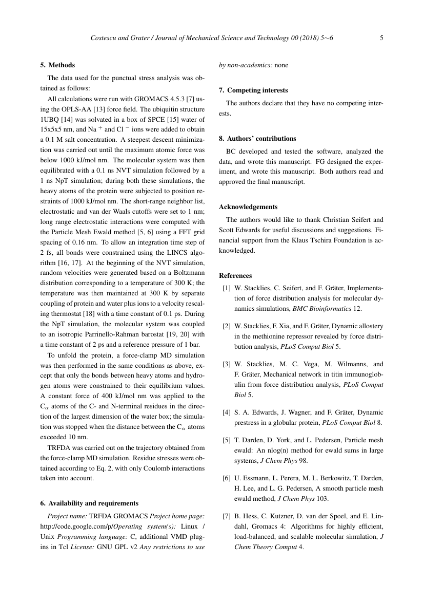 Example of Journal of Mechanical Science and Technology format
