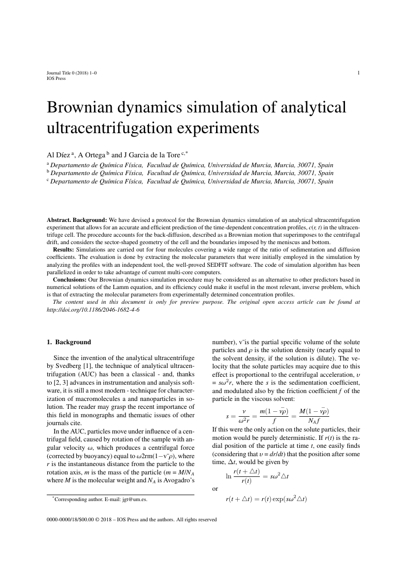 Example of Journal of Intelligent & Fuzzy Systems format