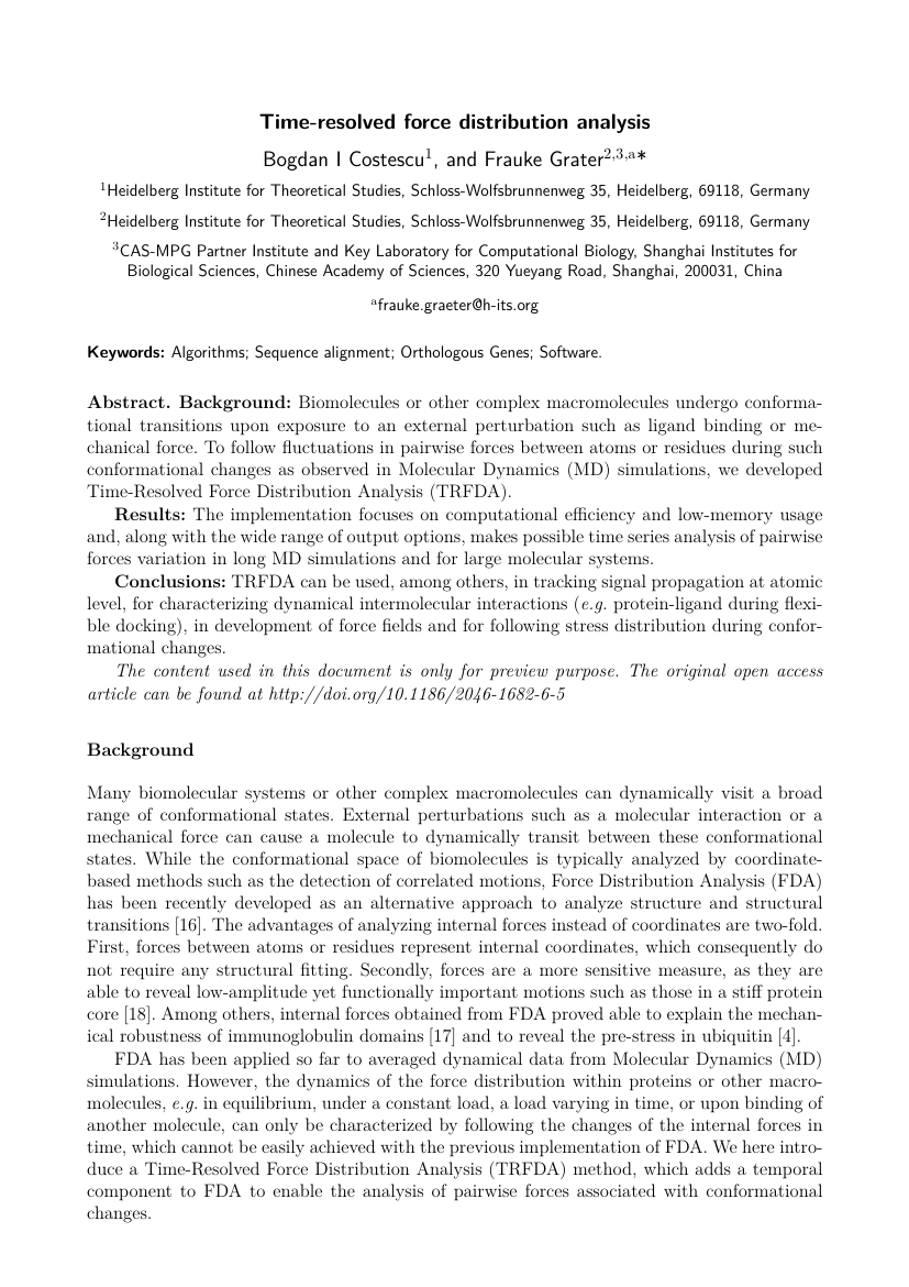 Example of International Journal of Engineering Research in Africa format