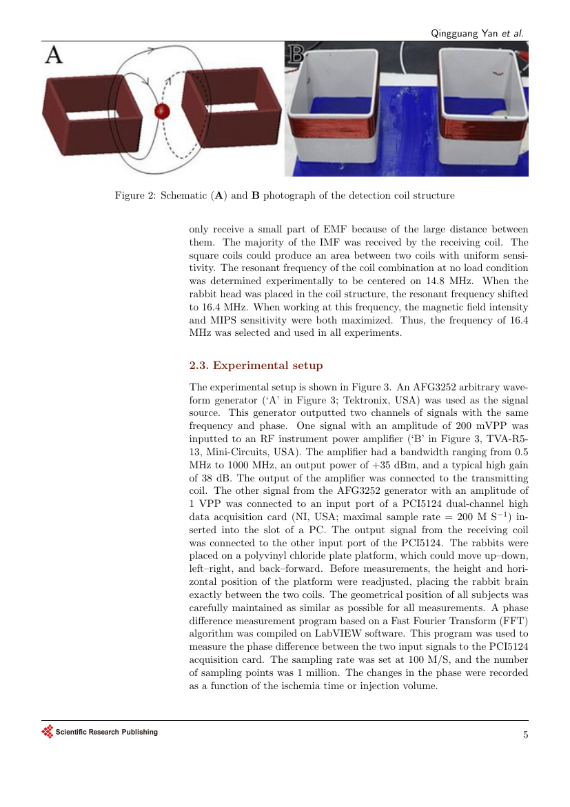 Example of Journal of Textile Science and Technology format