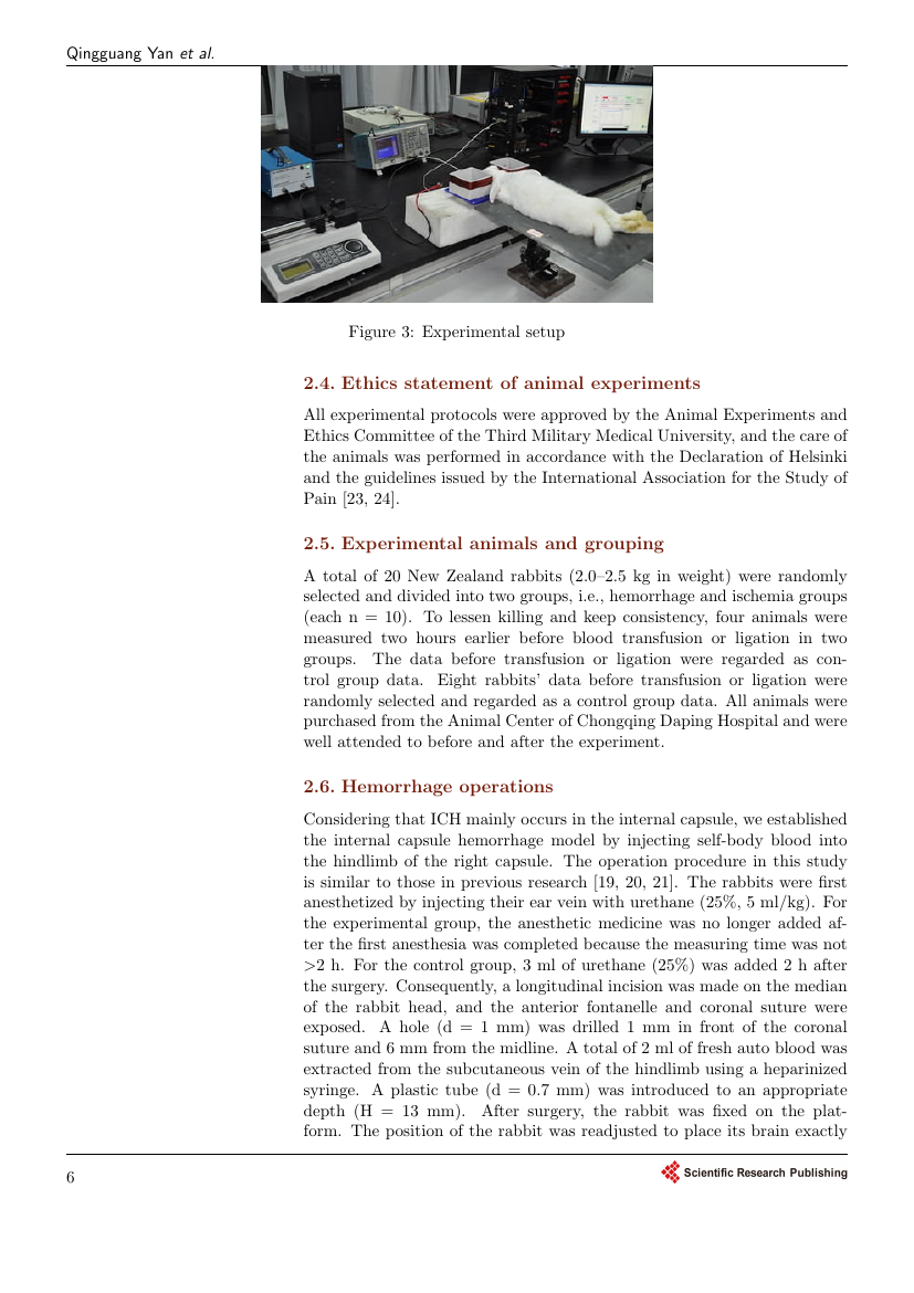Example of Journal of Sensor Technology format