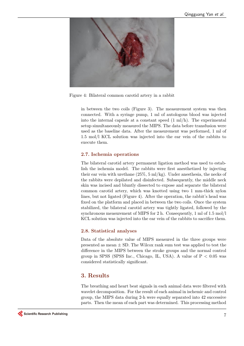 Example of Open Journal of Organ Transplant Surgery format