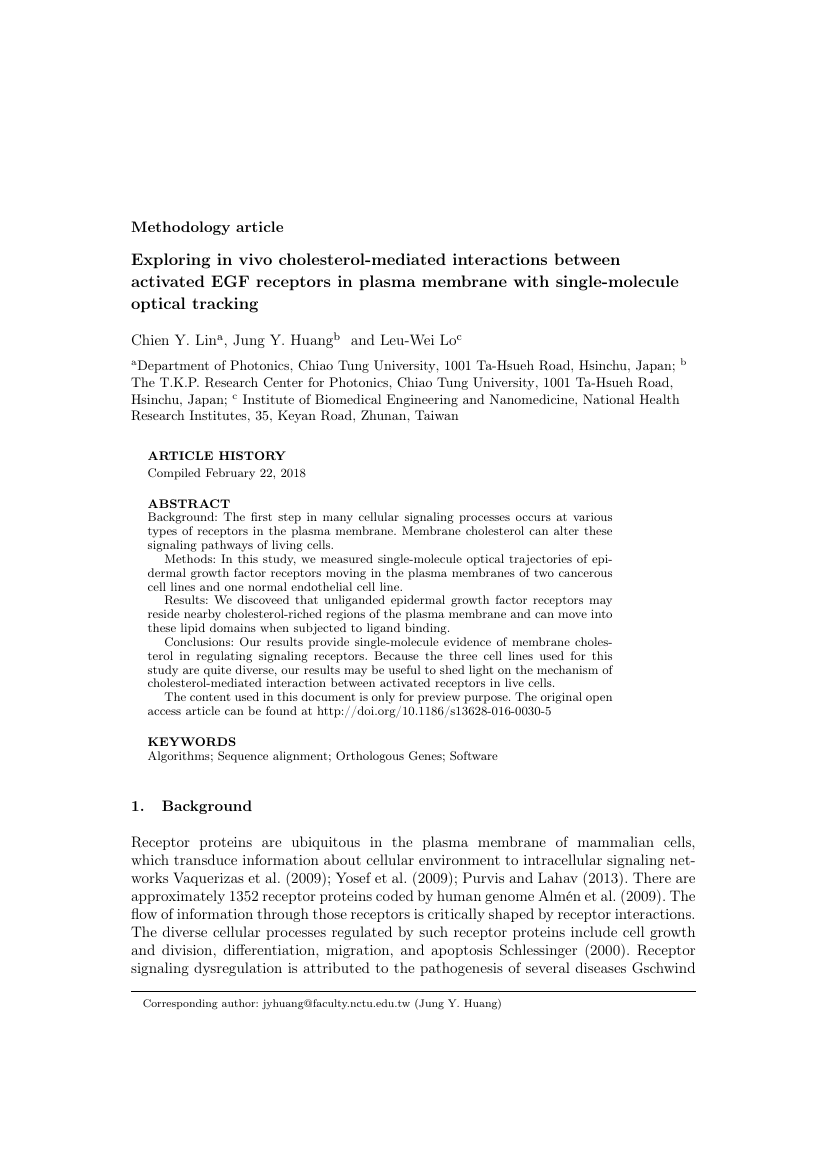 Example of International Journal of Construction Management format