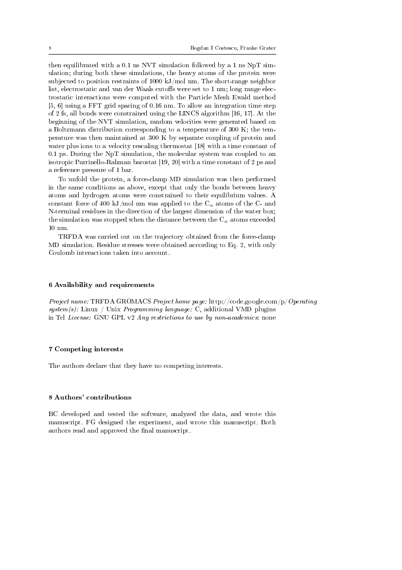 Example of Journal of Cluster Science format