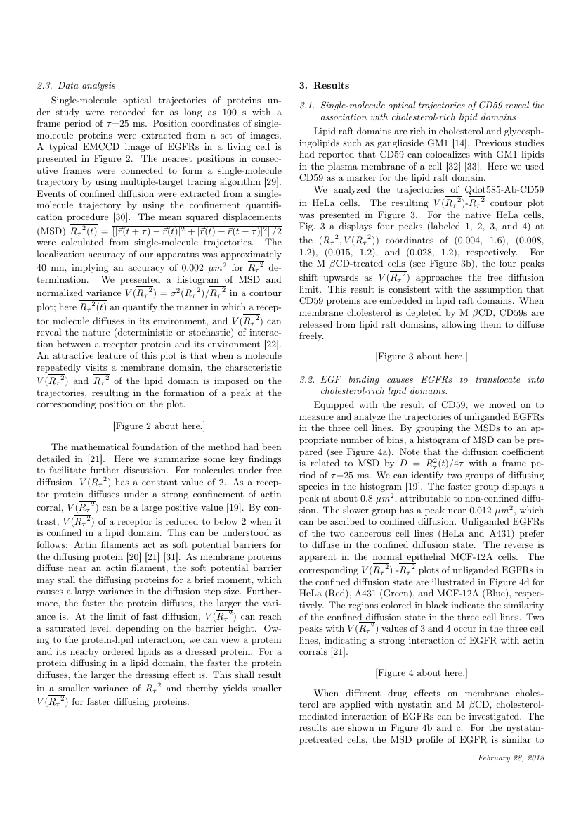 Example of Integration, the VLSI Journal format