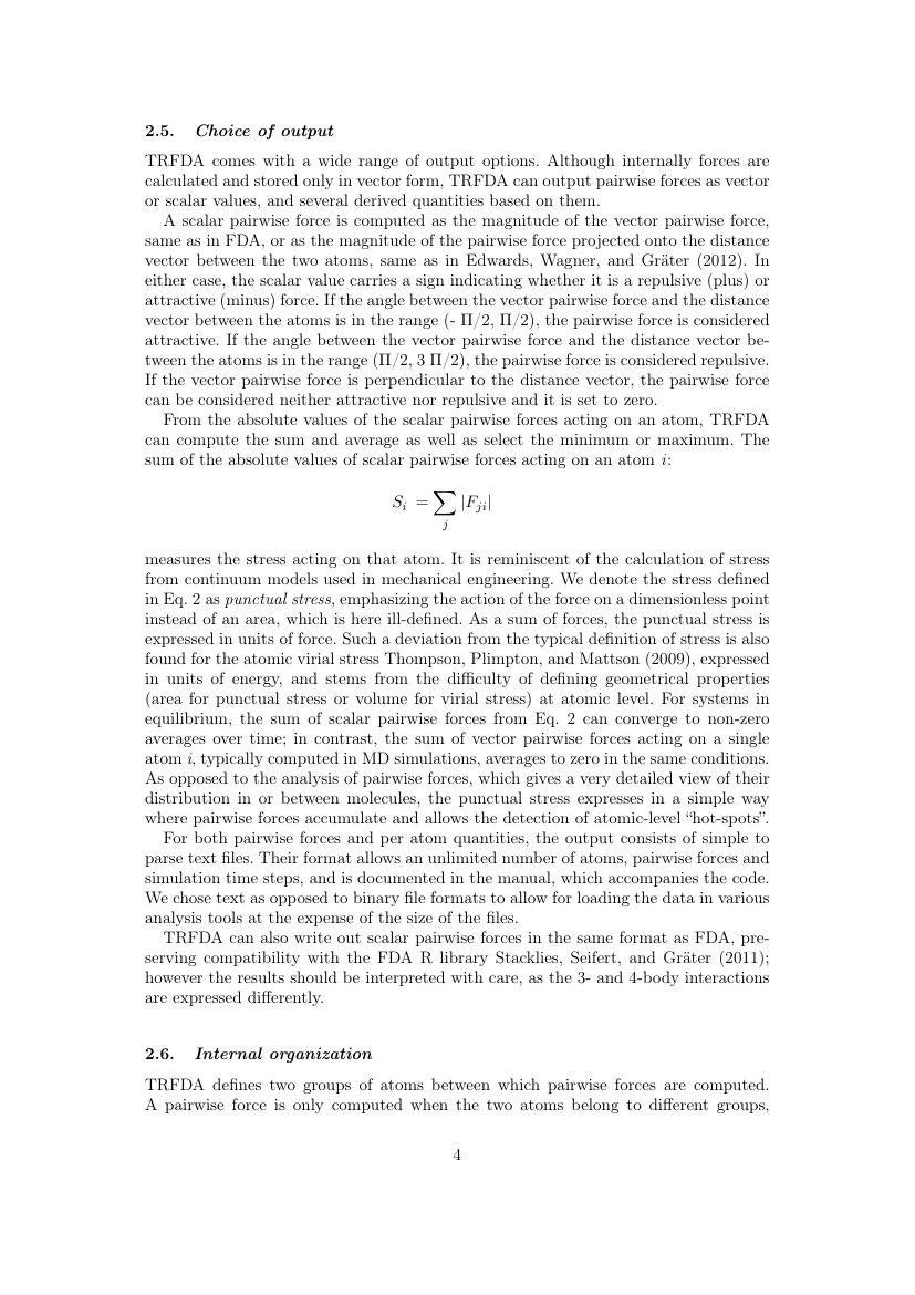 Example of Educational Review format