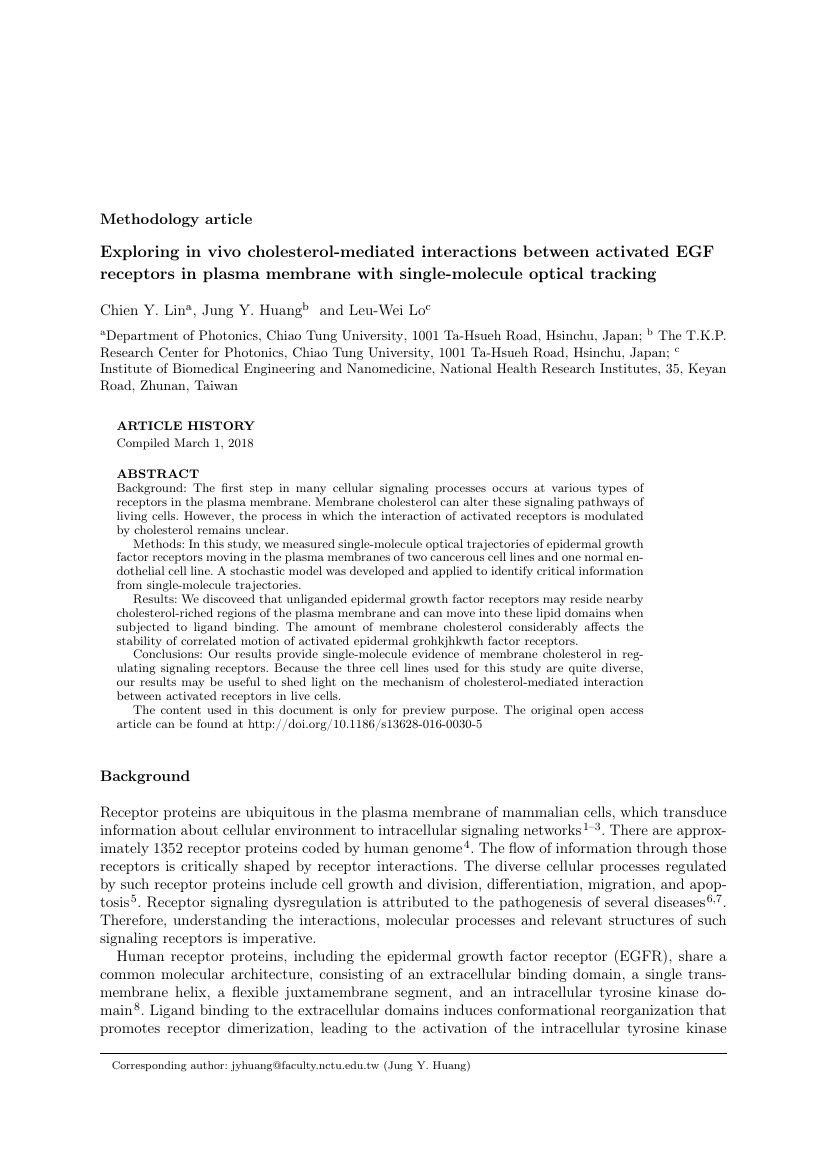 Example of Journal of Computer Information Systems format