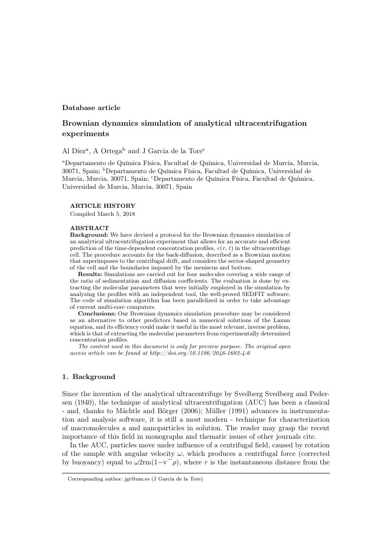 Example of Regional Studies format