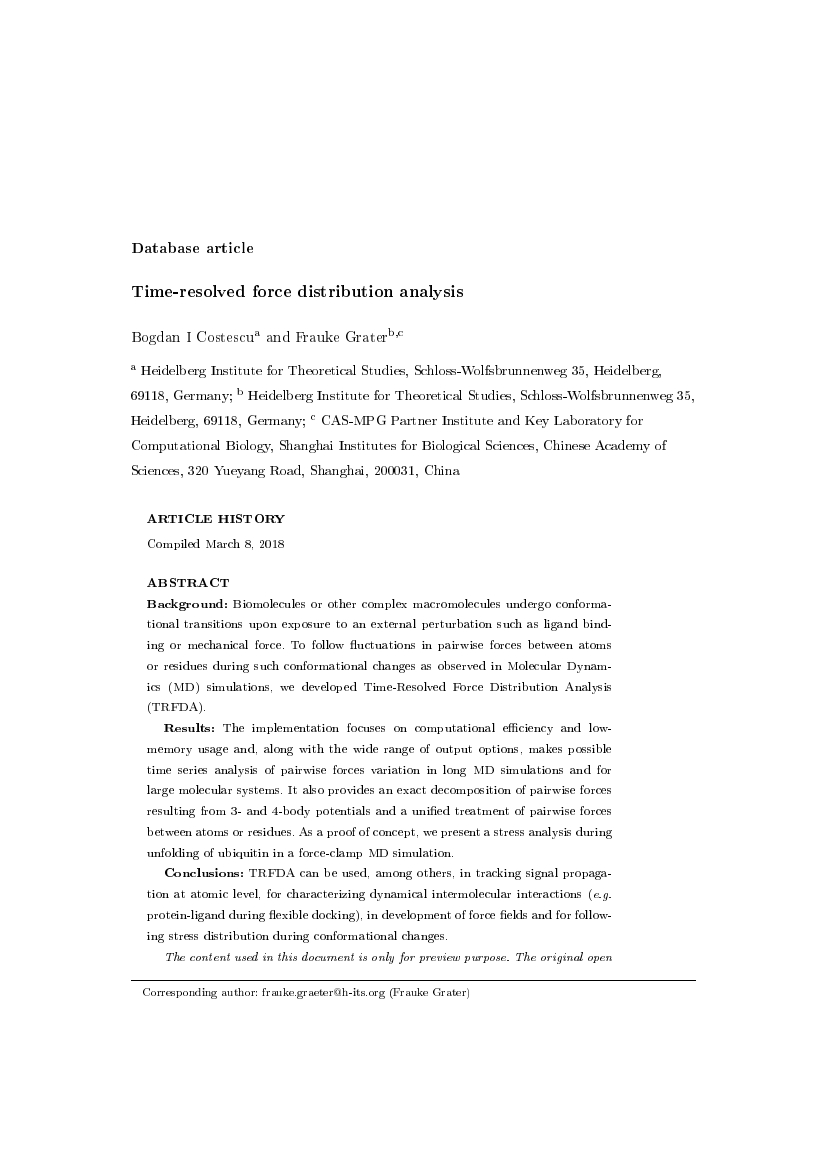Example of Journal of Creativity in Mental Health format