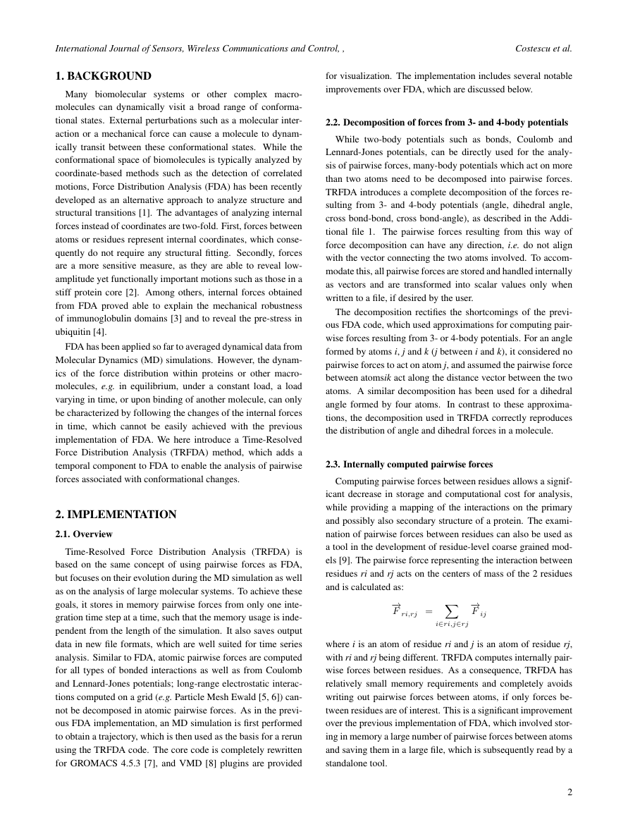 Example of International Journal of Sensors, Wireless Communications and Control format