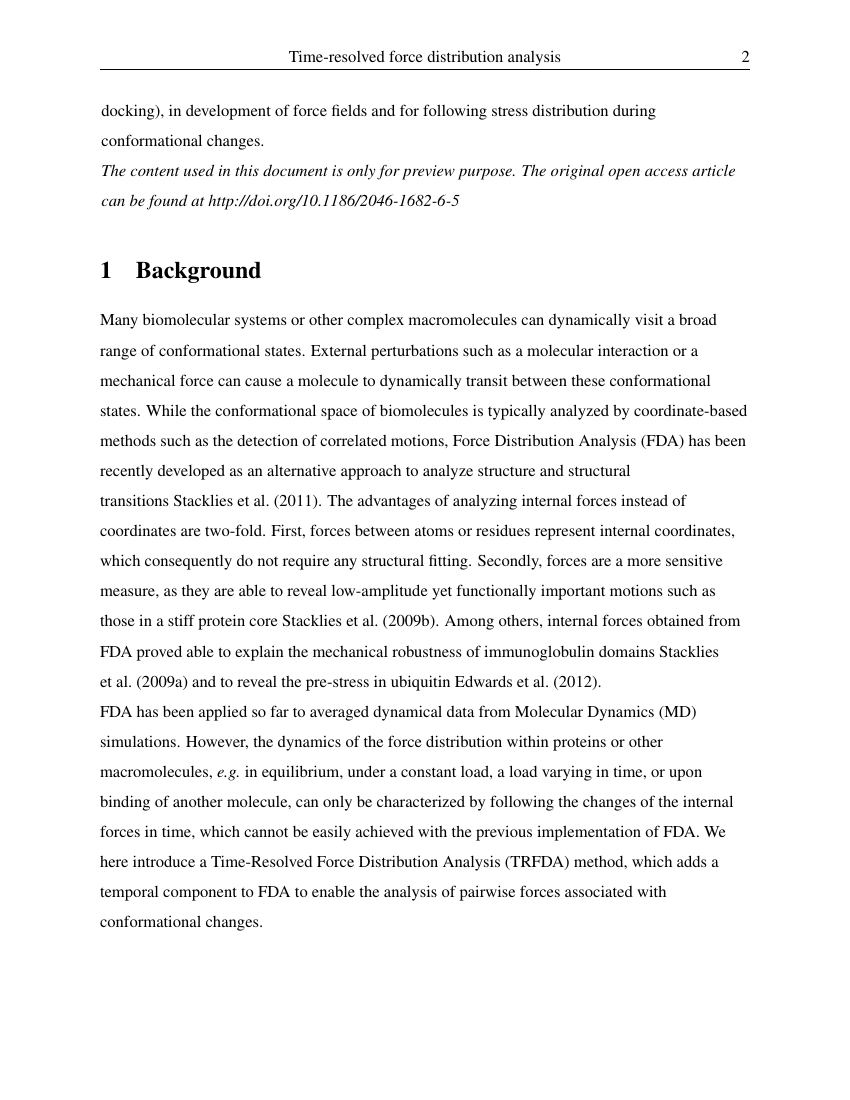 Example of Journal of Plankton Research format