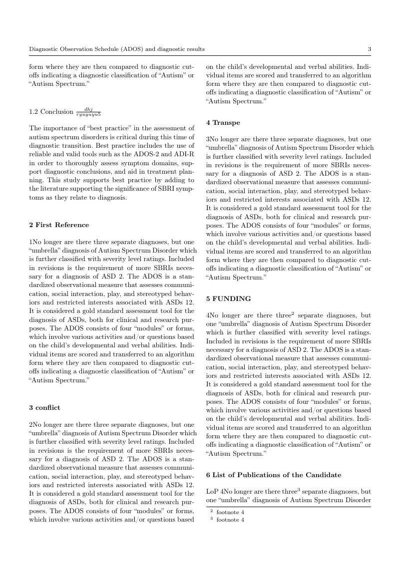 Example of Brazilian Journal of Physics format