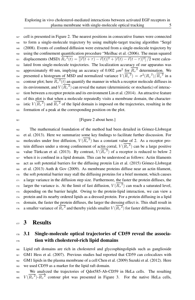 Example of Conservation Letters format