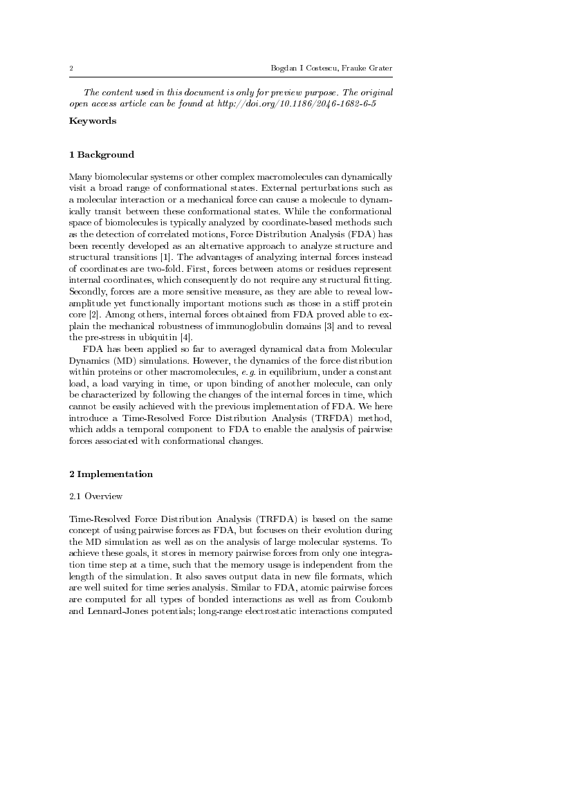 Example of Journal of Polymers and the Environment format