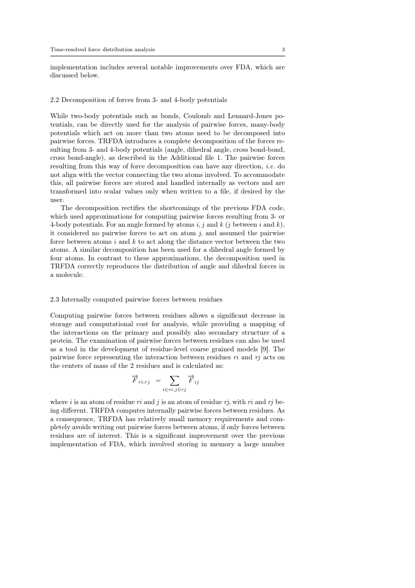 Example of Analysis Mathematica format