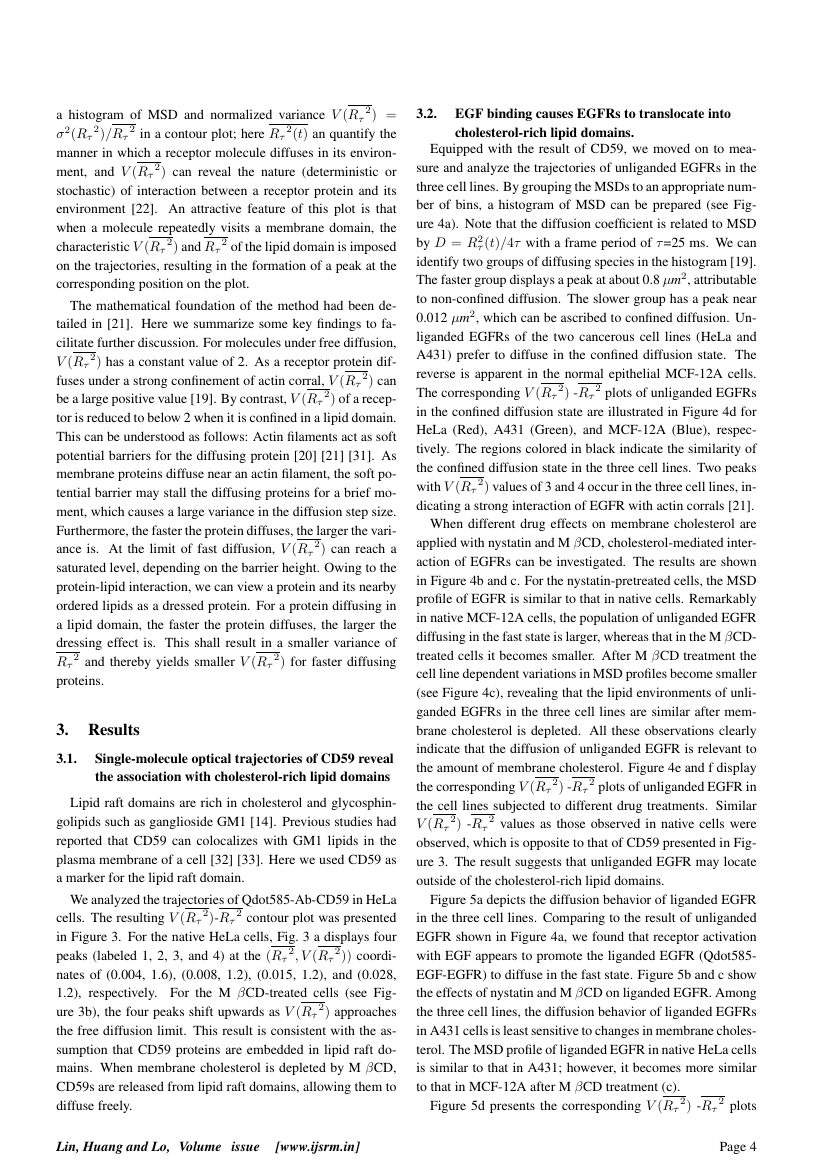 Example of International Journal of Scientific Research and Management (IJSRM) format