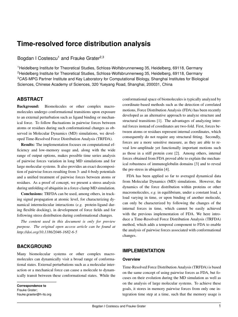 Example of Emergency Medicine Journal format