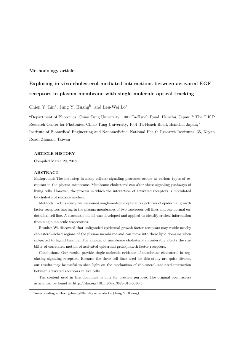 Example of International Journal of Healthcare Management format