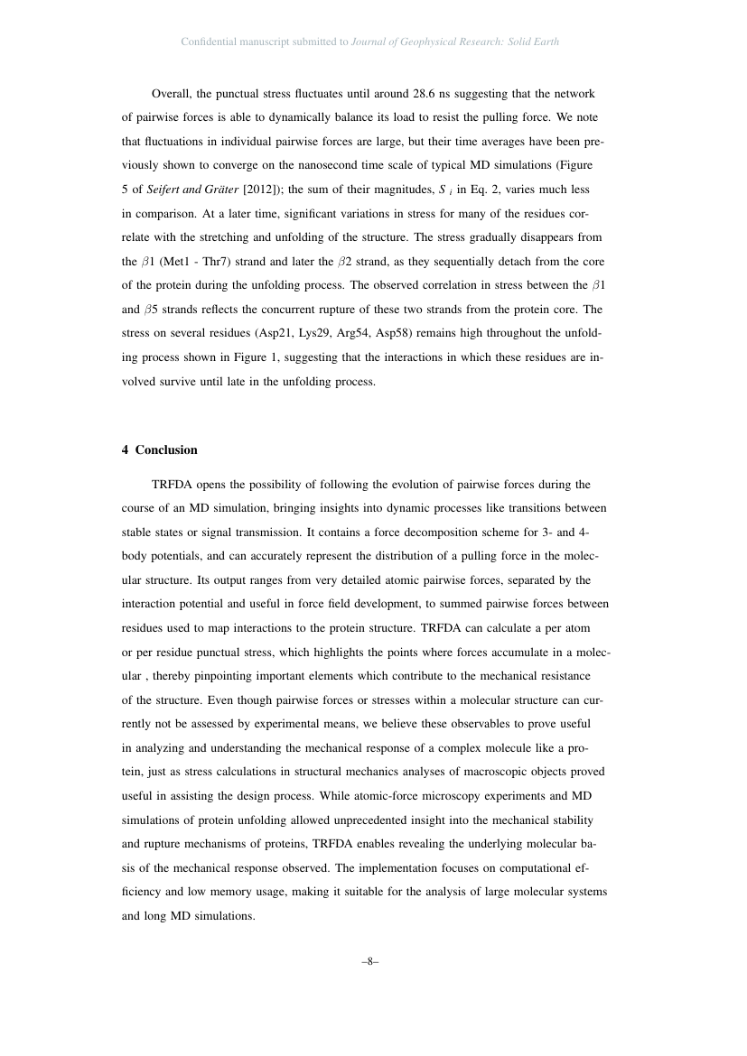 Example of Journal of Geophysical Research: Solid Earth format