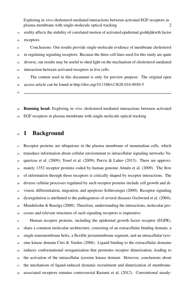 Example of Journal of Ecology format