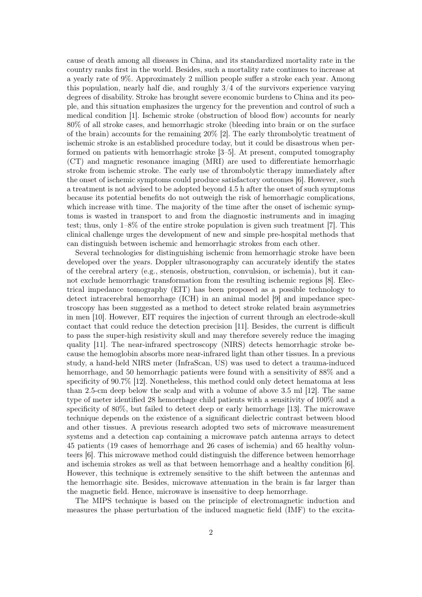 Example of The Imaging Science Journal format