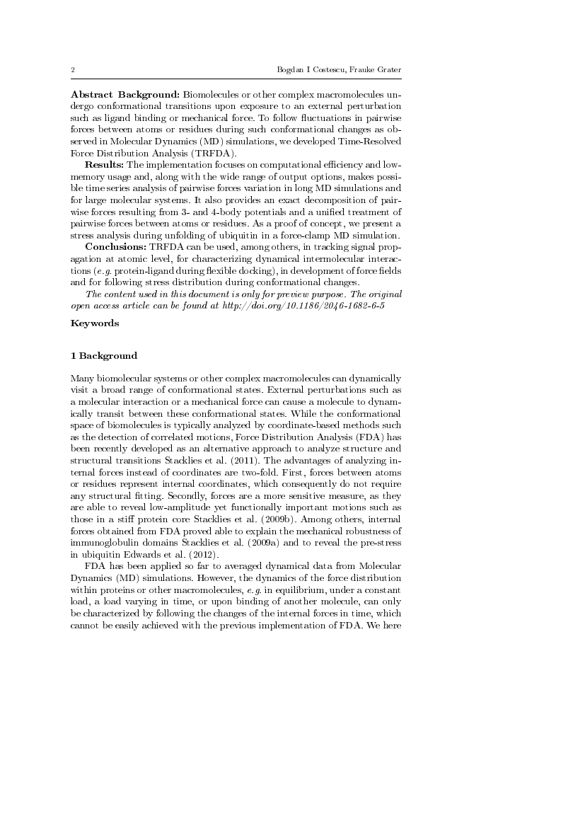 Example of International Journal of Speech Technology format