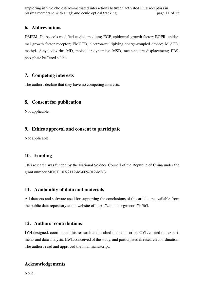 Example of Journal of Open Humanities Data format