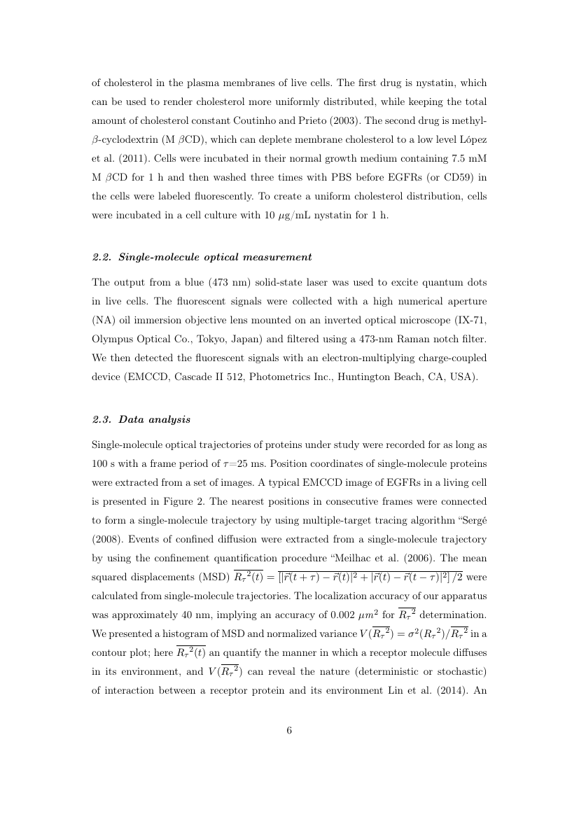 Example of Cybernetics and Systems format