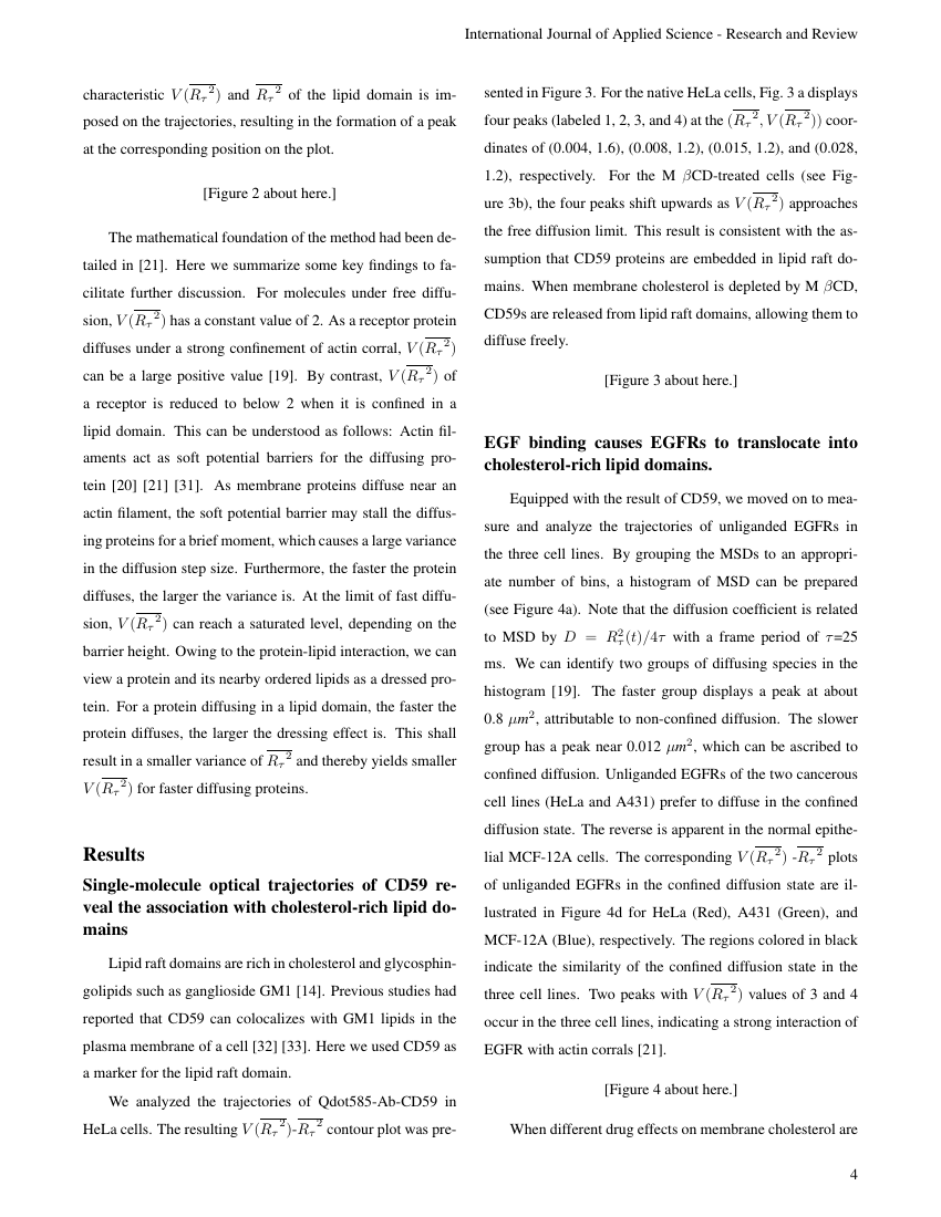 Example of International Journal of Applied Science - Research and Review format