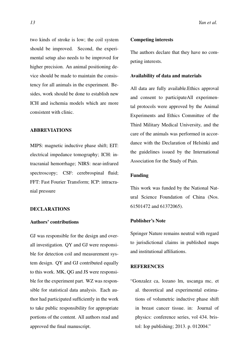 Example of Journal of Business Logistics format