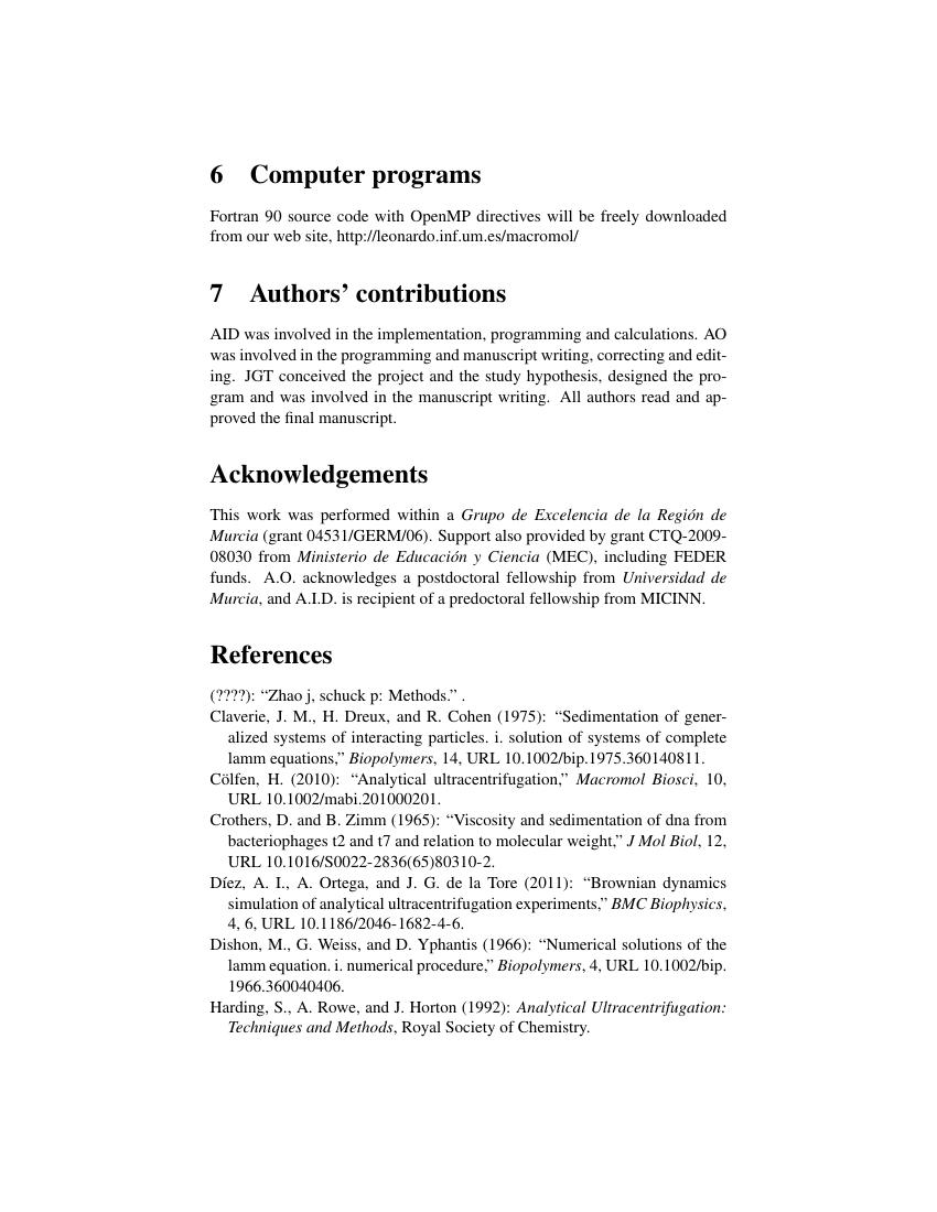 Example of The International Journal of Biostatistics format