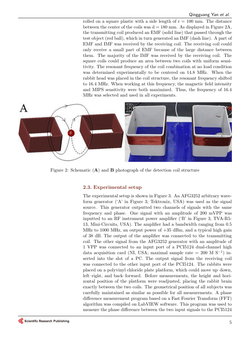Example of Journal of Transportation Technologies format