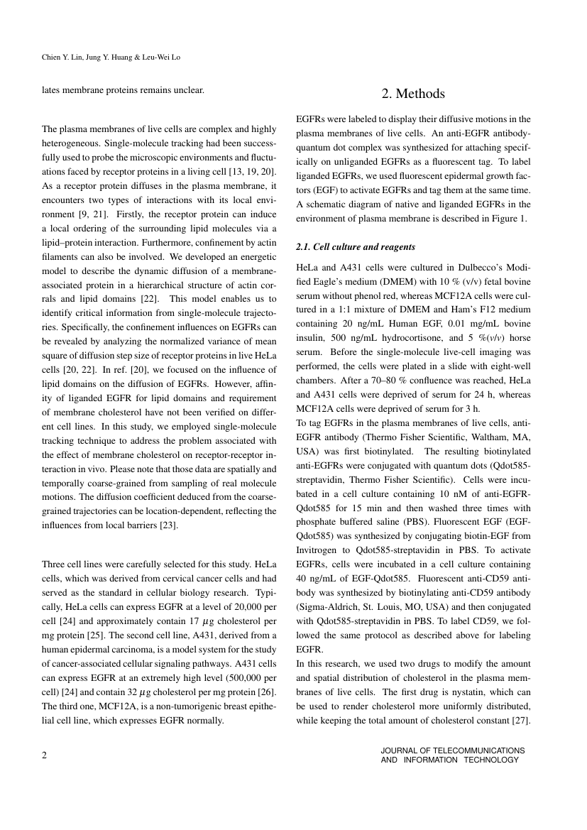 Example of Journal of Telecommunications and Information Technology format