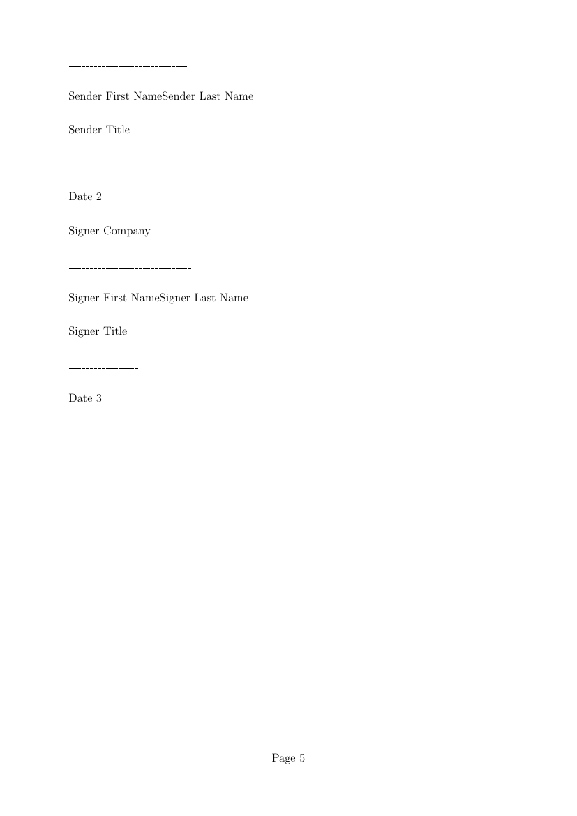 Example Of Profit Sharing Agreement Template Format