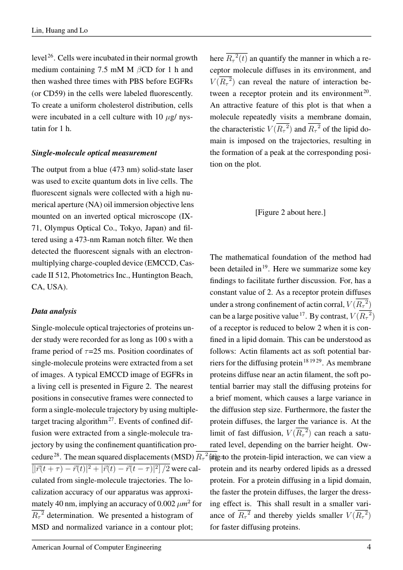 Example of Research Journal of Mathematics and Computer Science format