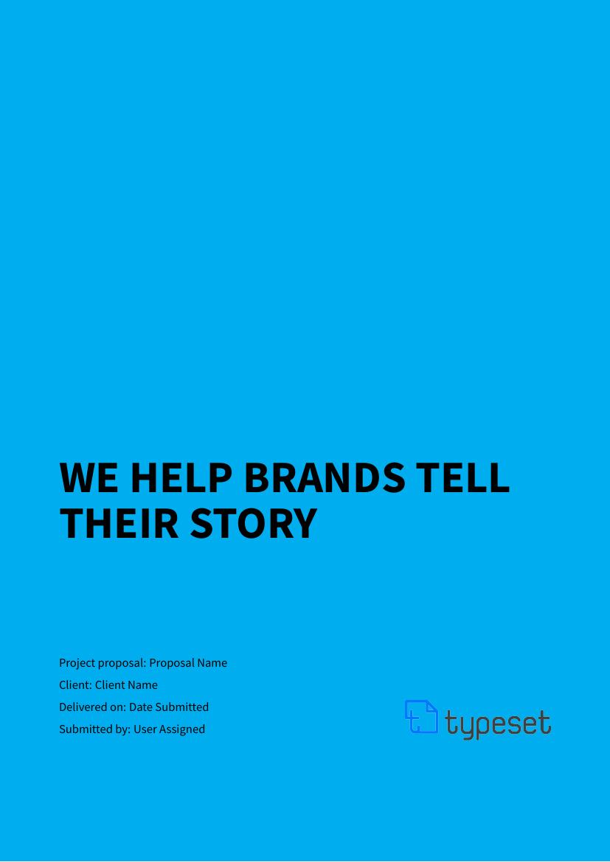 Example of Branding & Identity format
