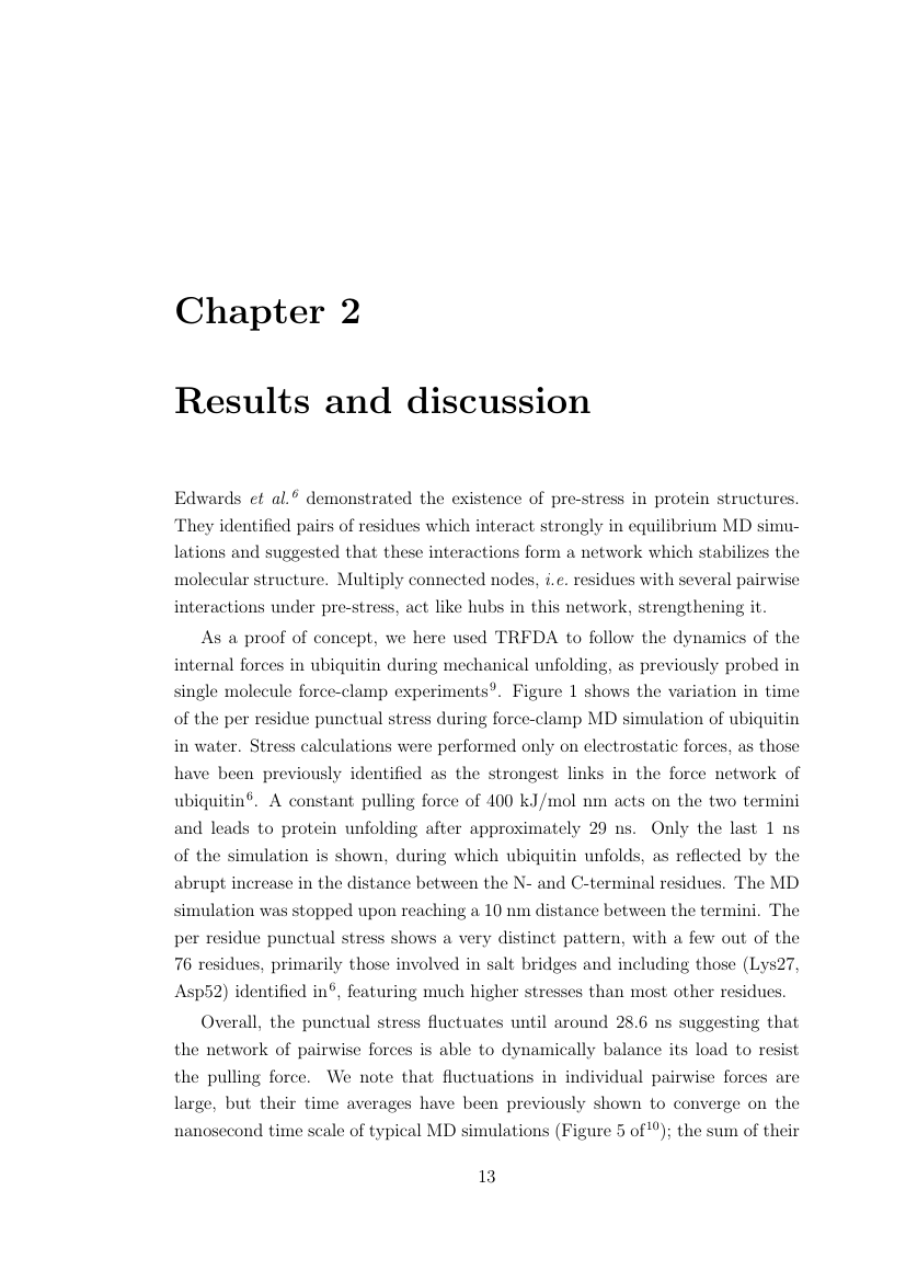 Example of Format for University of Manchester Thesis format