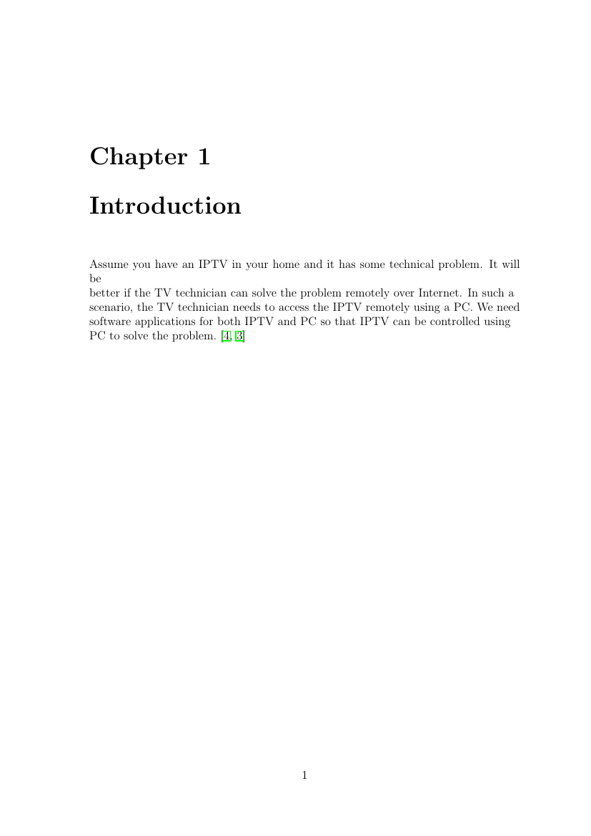 Example of Thesis Template for VTU format