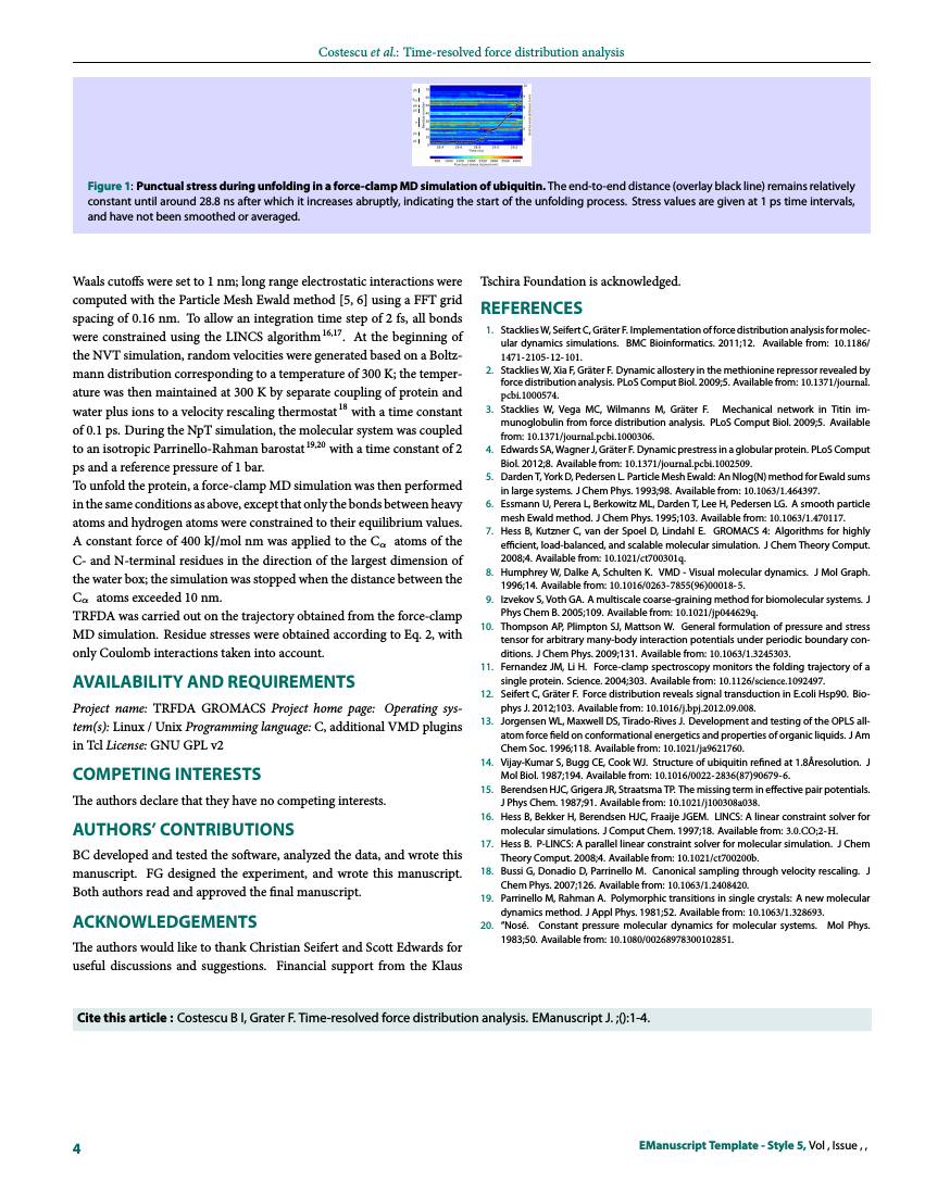Example of EManuscript Template - Style 5 format