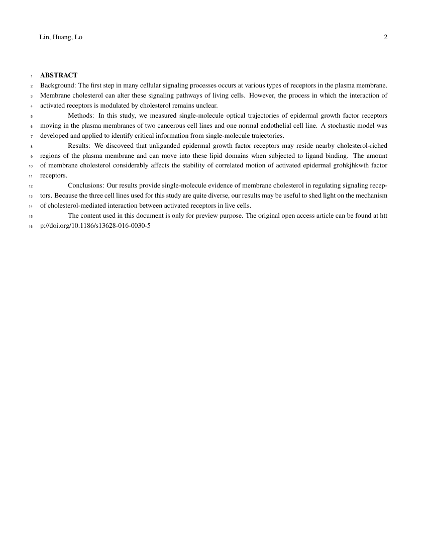 Example of ILAR Journal format