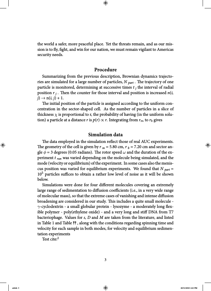 Example of Format for AIR University Book (LeMay) format