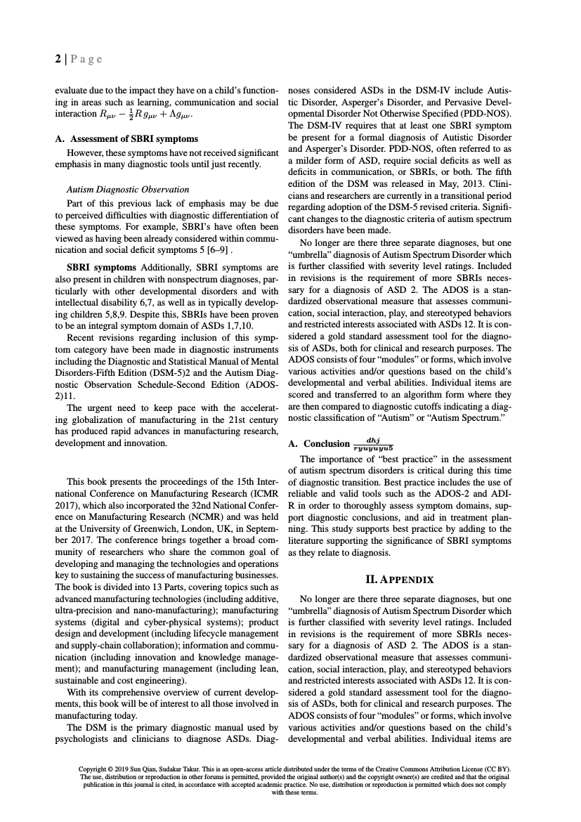 Example of Indonesian Journal of Cultural and Community Development (English) format