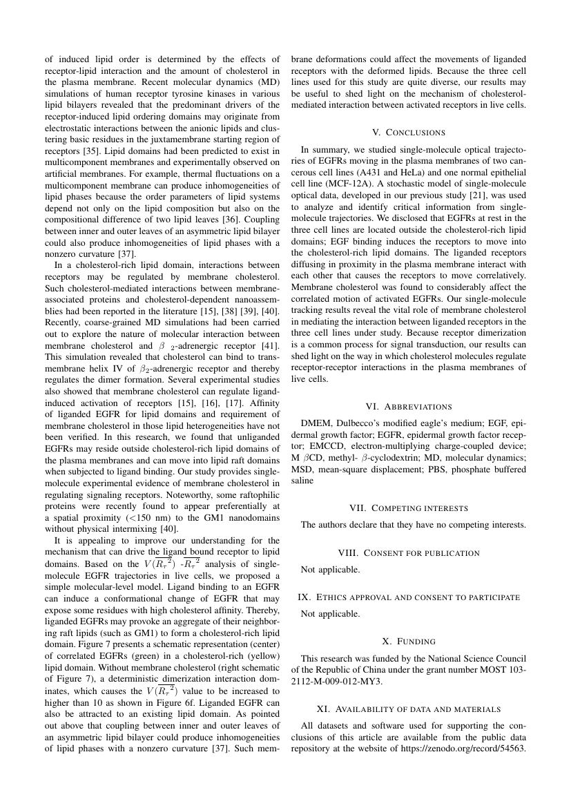 Example of The International Association of Engineers (IAENG) format
