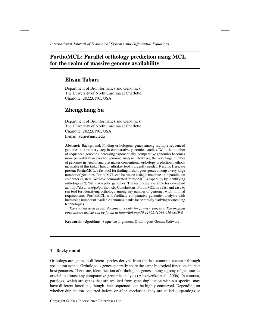 Example of International Journal of Dynamical Systems and Differential Equations format