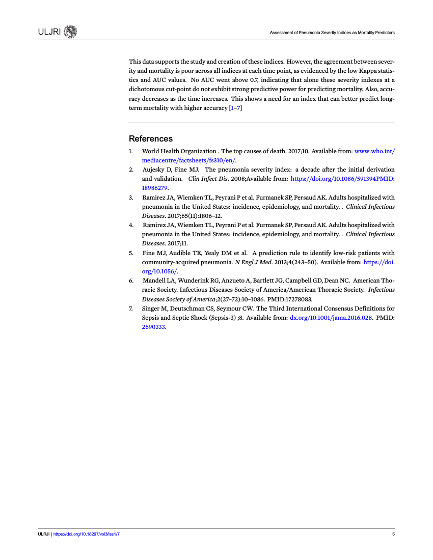 Example of ULJRI format